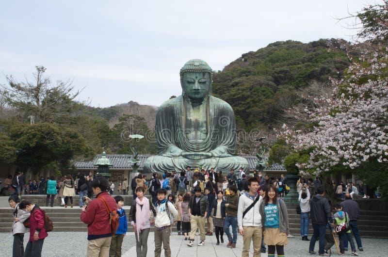 Download Gente En La Estatua De Daibutsu Foto editorial - Imagen de floral, parque: 42430806