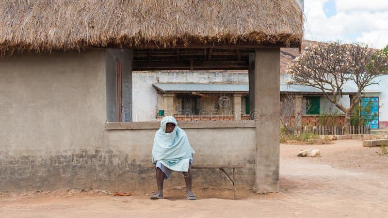 Gente en Madagascar foto de archivo