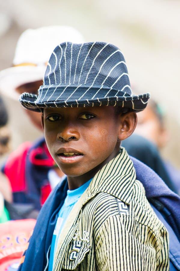 Gente en Madagascar fotografía de archivo libre de regalías