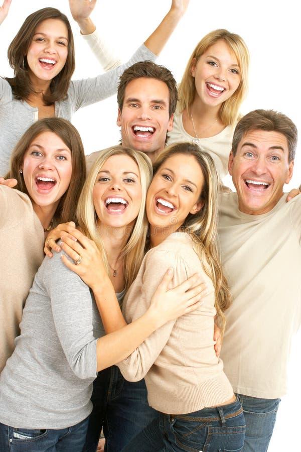 Gente feliz fotografía de archivo