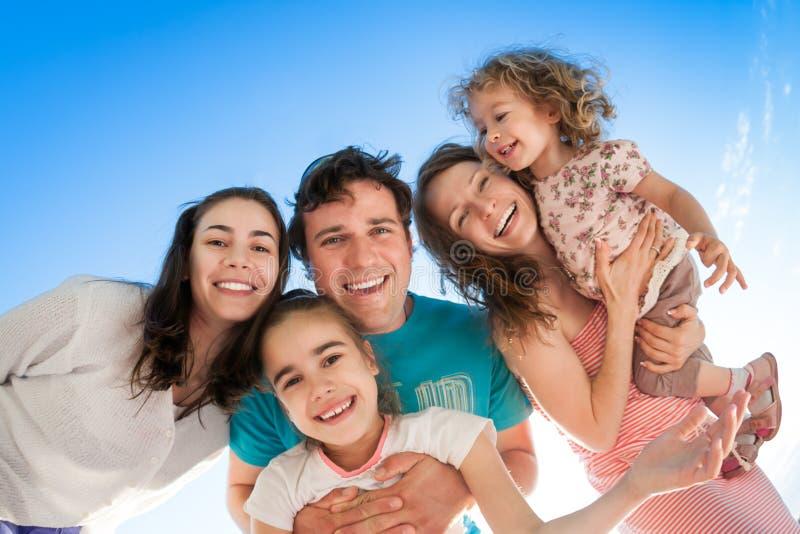 Gente feliz imagen de archivo