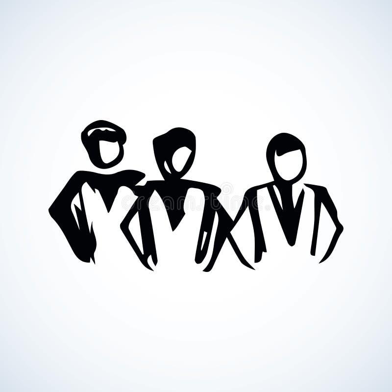 Gente Gráfico del vector stock de ilustración