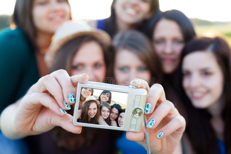 Gente hermosa en una imagen fotos de archivo