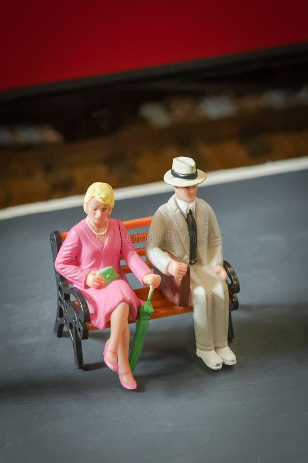 Gente miniatura fotos de archivo libres de regalías