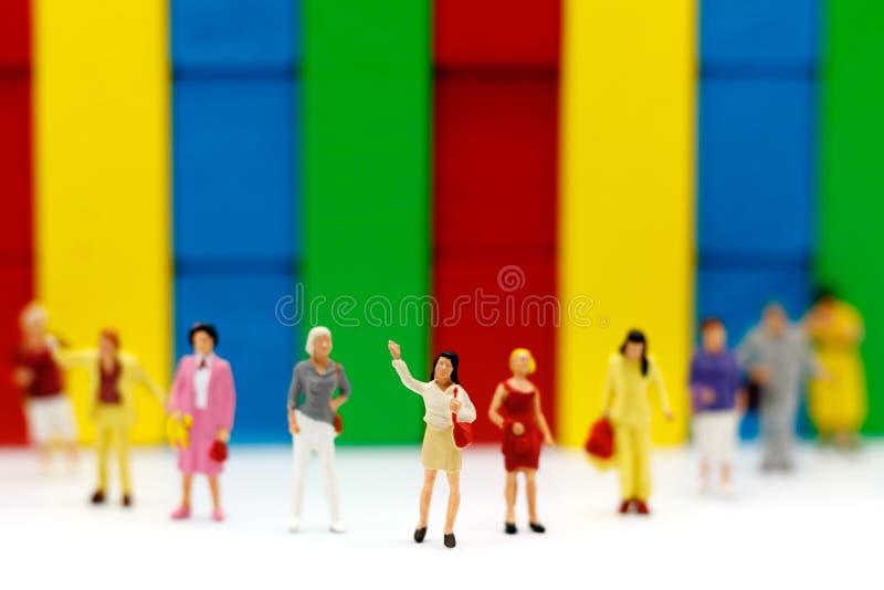 Gente miniatura: Affare Person Candidate People Group immagini stock libere da diritti