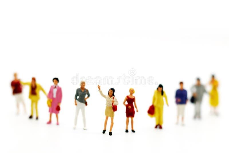 Gente miniatura: Affare Person Candidate People Group immagine stock