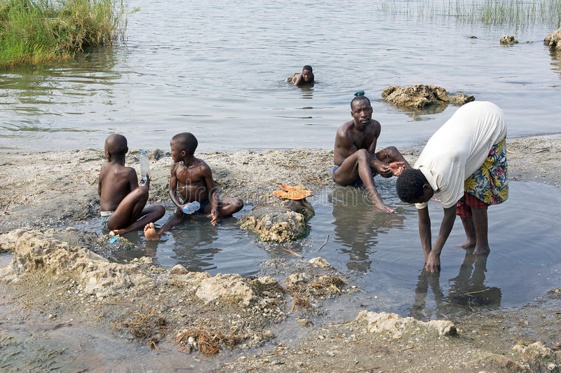Gente ruandese immagine stock