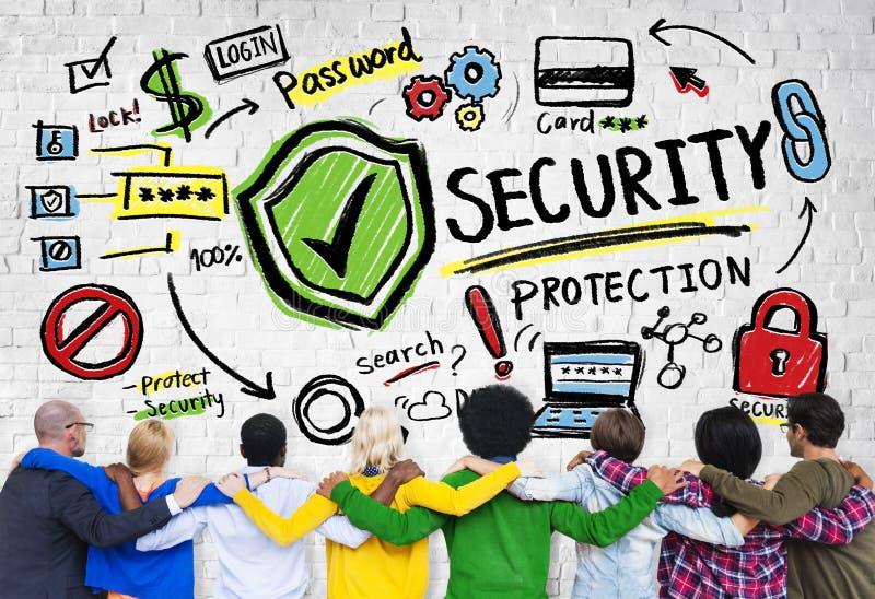 Gente Team Togetherness Security Protection Concept de la pertenencia étnica imagen de archivo libre de regalías