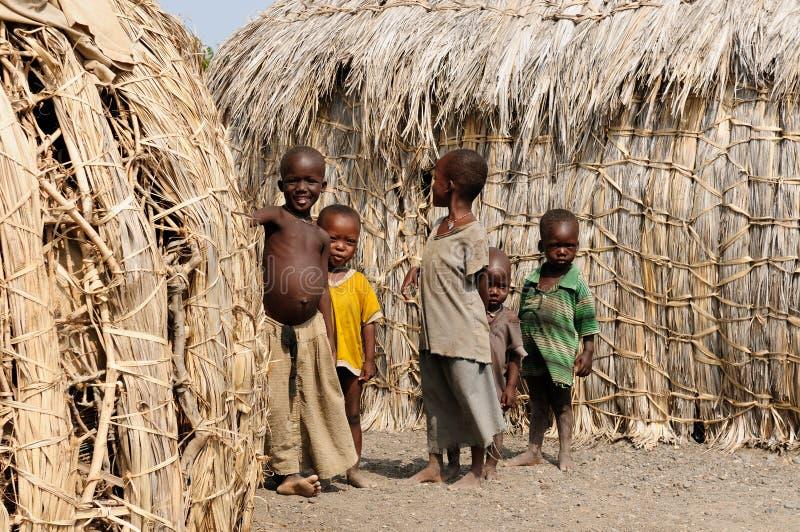 Gente tribal de África, Kenia foto de archivo libre de regalías