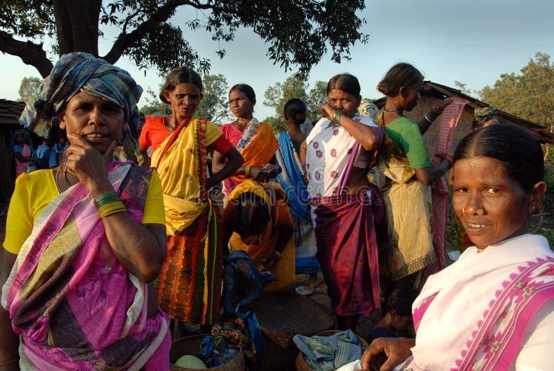Gente tribale in India fotografie stock libere da diritti