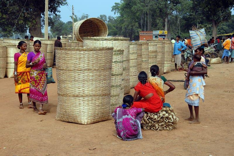 Gente tribale in India immagine stock libera da diritti