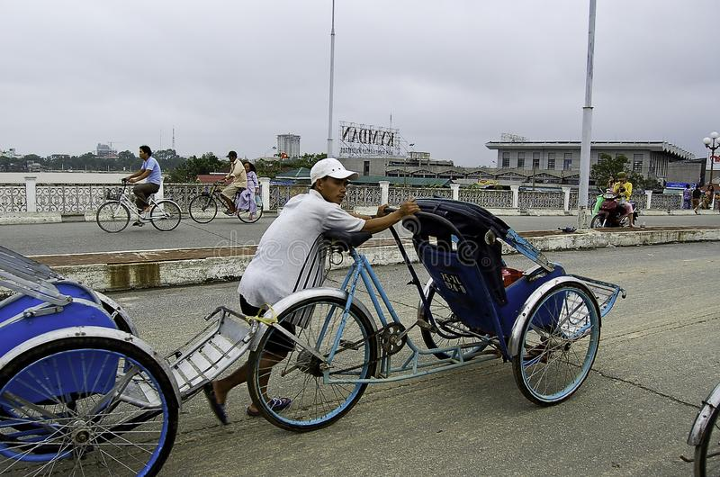 Gente vietnamita che lavoro fotografie stock libere da diritti