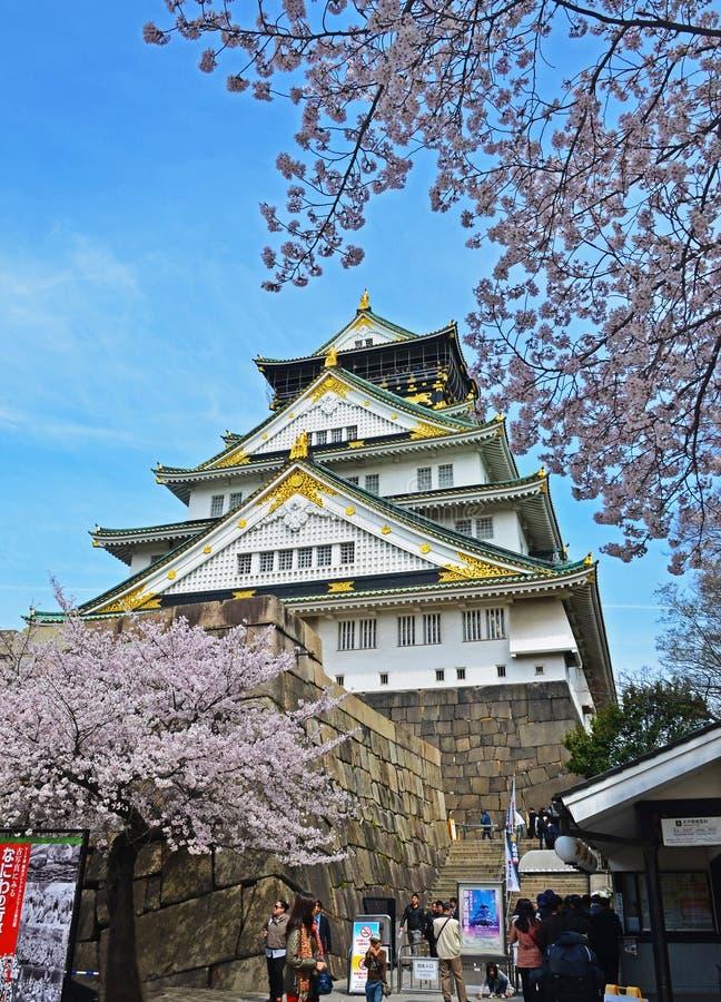 Gentil Osaka Castle images stock