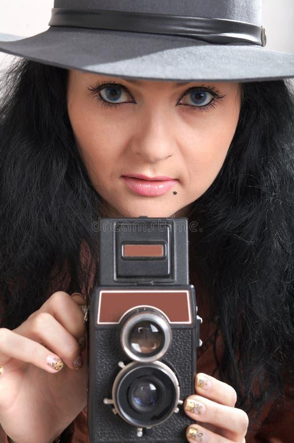 Gentil photographe photos libres de droits