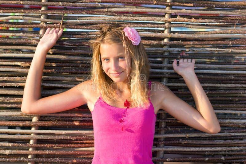 Gentille fille de l'adolescence images libres de droits