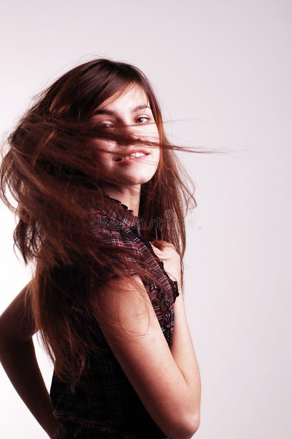 Gentille jeune femme photo libre de droits