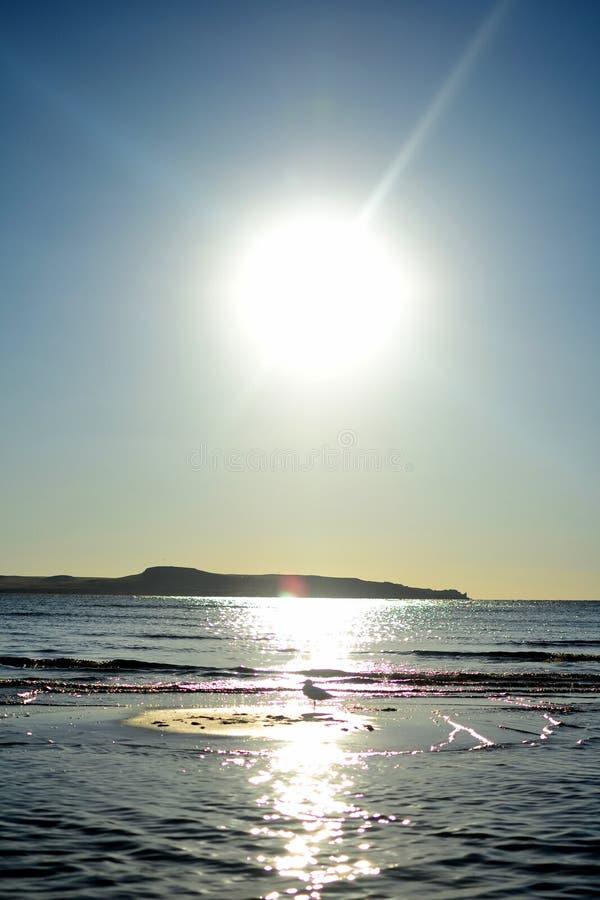 Gentle волны моря Азова стоковая фотография
