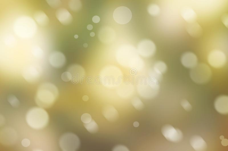 Gentle abstract background with bokeh effect in warm colors royalty free stock photos