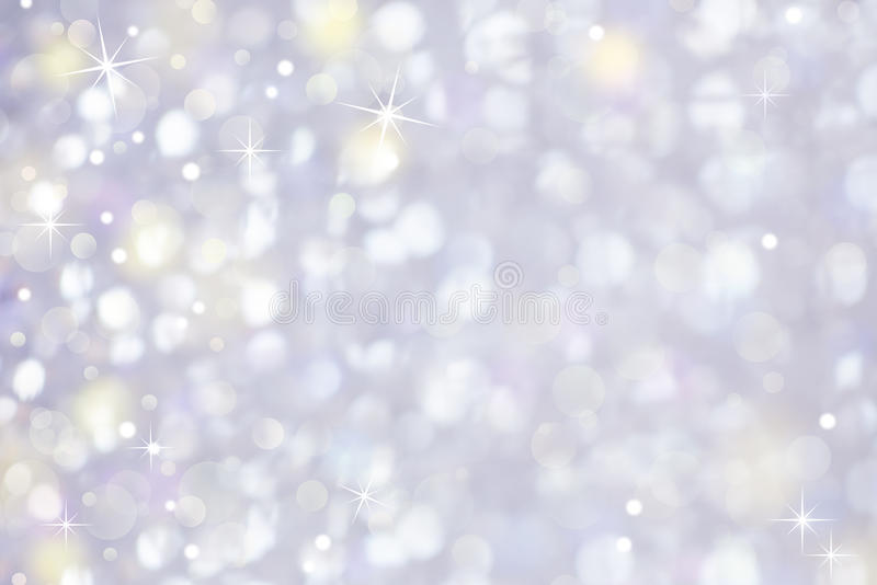 Gentle Glittering Light Abstract Background stock photography