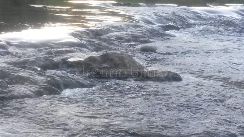 Gentle river run stock photography