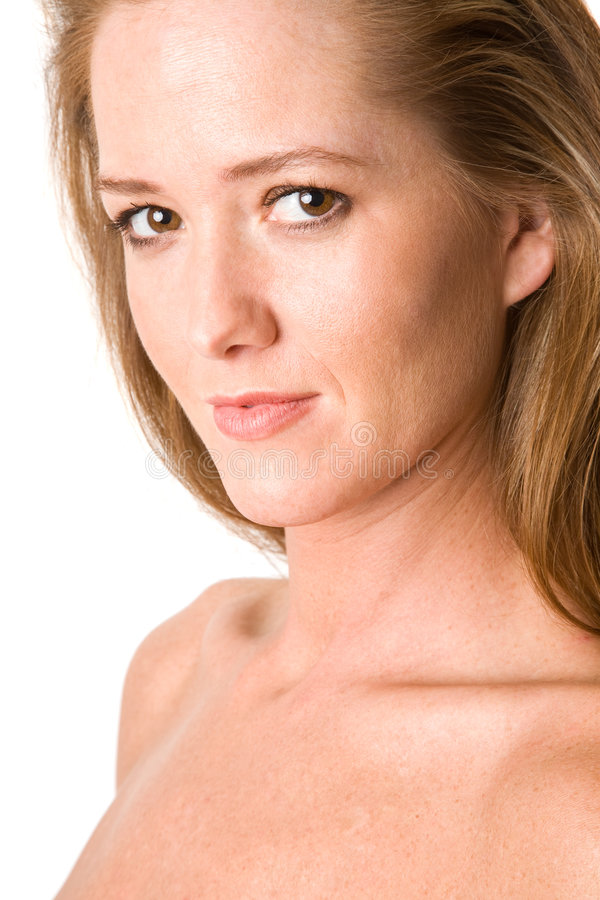 Download Gentle Smile From An Attractive Woman Stock Image - Image of female, women: 4090901