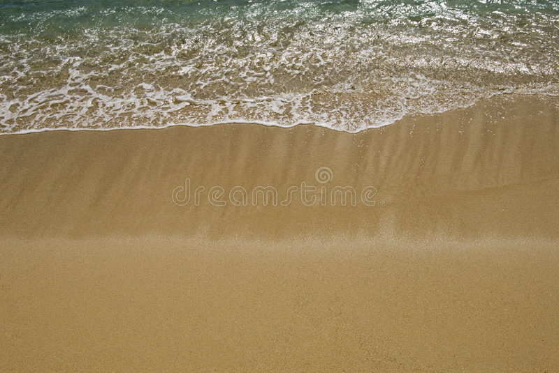 Gentle surf stock photography