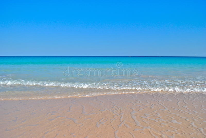 Download Gentle Waves On Perfect Caribbean Beach Stock Image - Image: 27269289