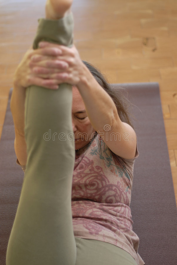 Gentle Yoga 2 Royalty Free Stock Photo