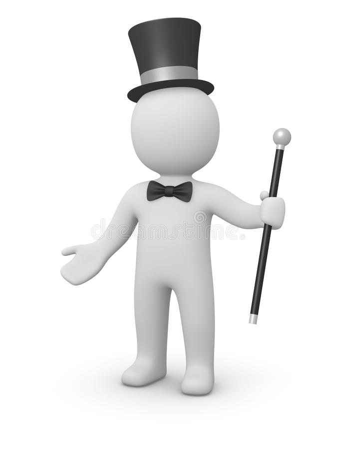 Gentleman stock illustration