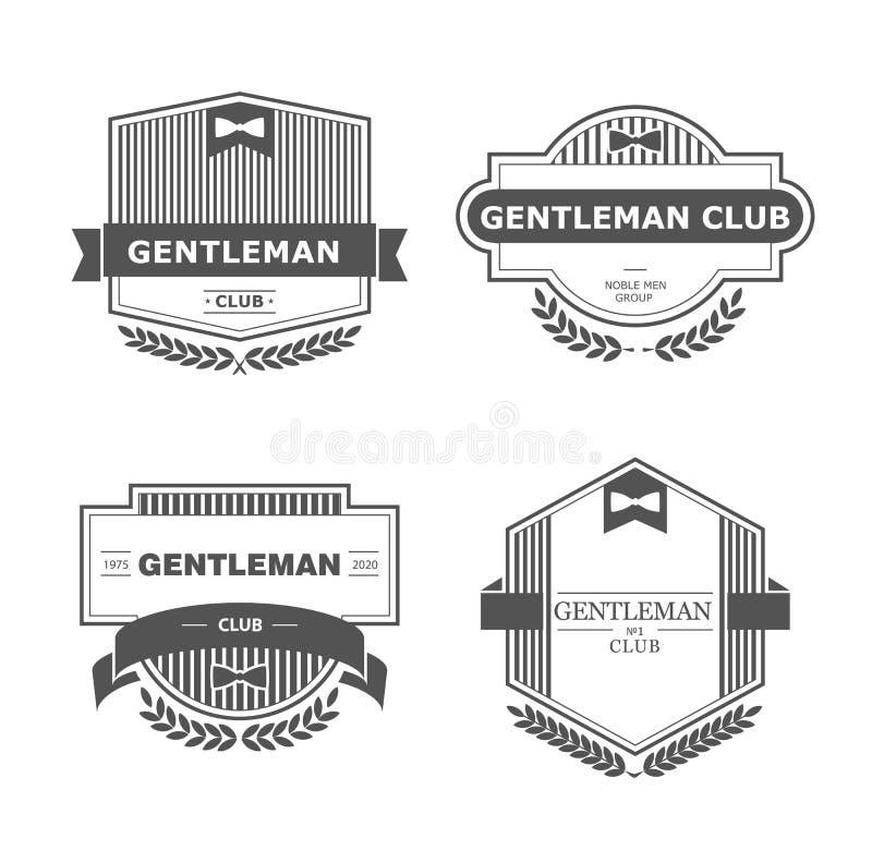 Gentleman club Πroyalty free illustration