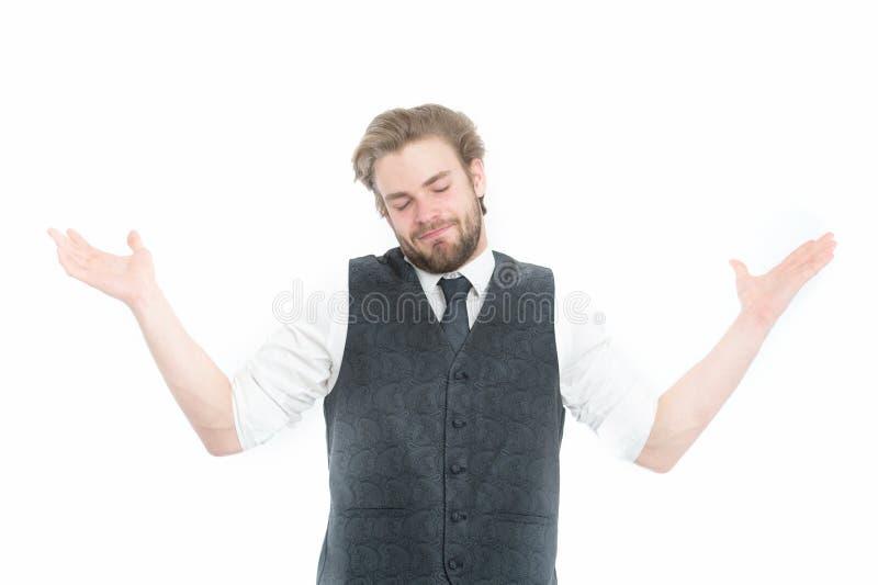 Gentleman eller man eller legentleman i waistcoat och band fotografering för bildbyråer