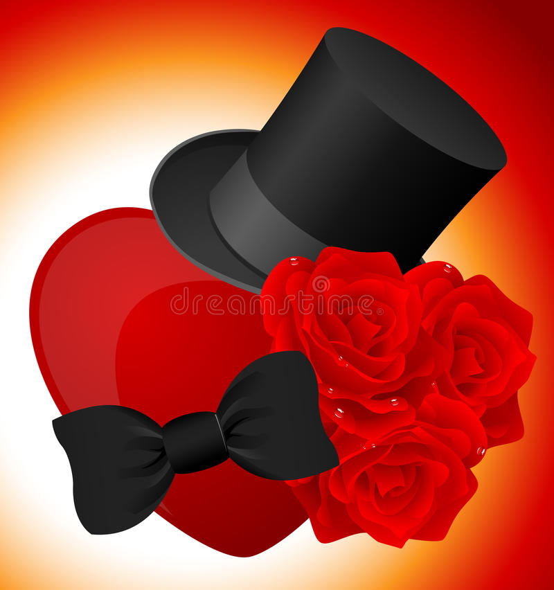 Download Gentleman gift stock vector. Image of suit, cylinder - 13472532