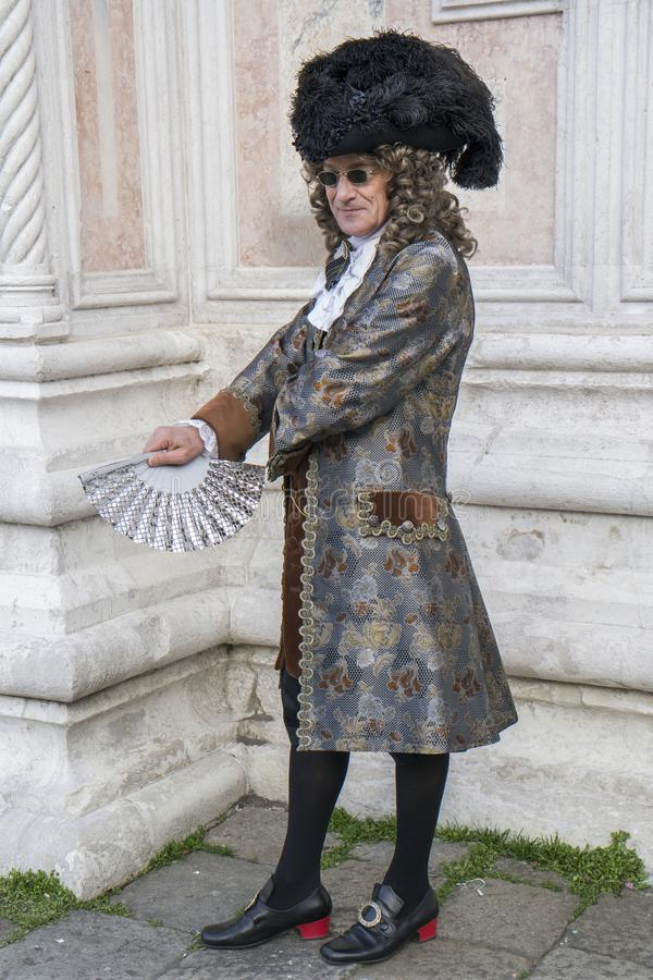 Gentlmen de Venecia imágenes de archivo libres de regalías