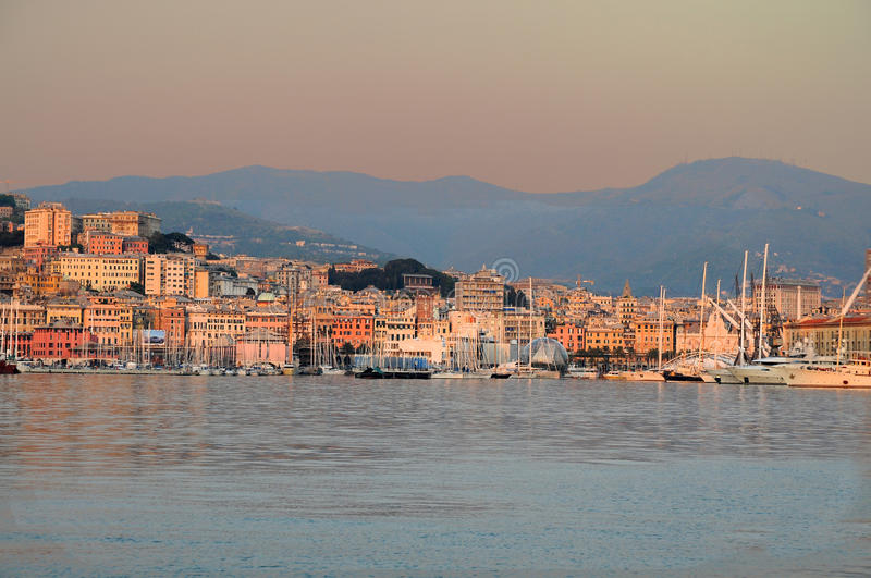 Genua stockfoto