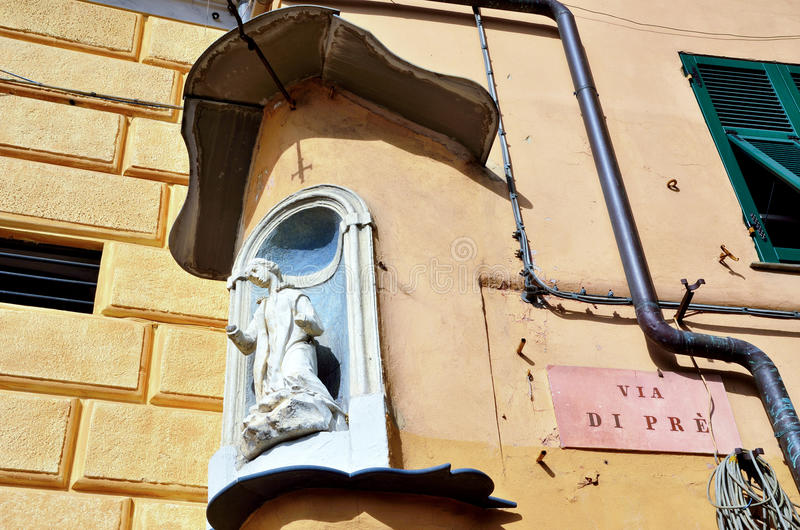 Genua domy zdjęcie stock