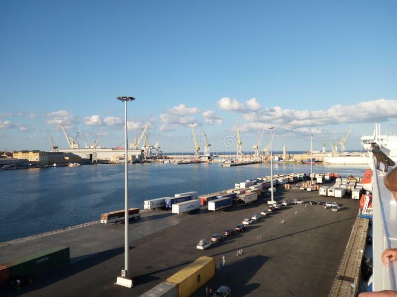 Genua porto stock images