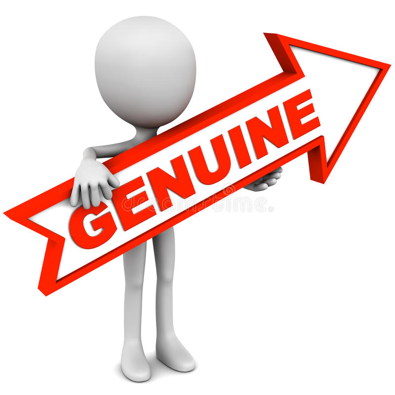 Free Genuine Or Original Stock Photography - 49623102