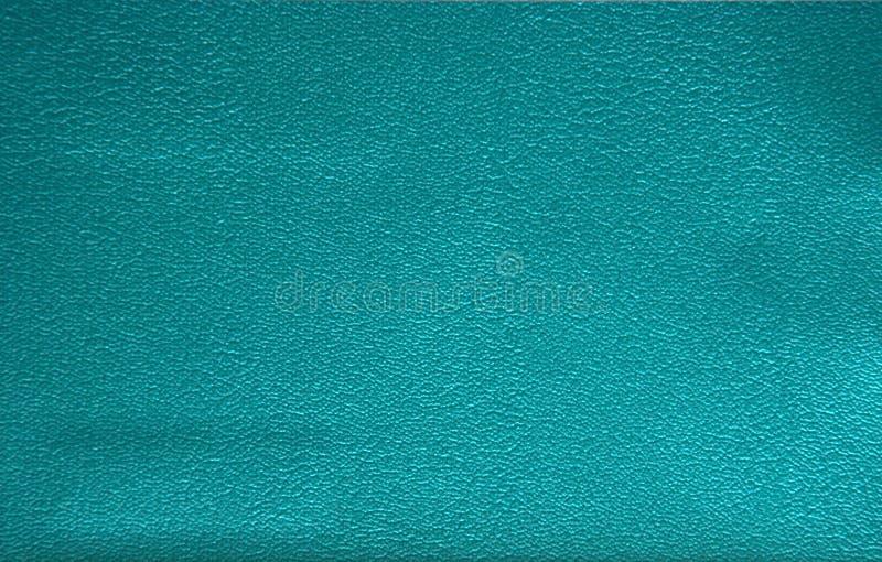 Genuines Leder künstlich blau gestrichen, die Textur des natürlichen Musters nah-oben stockfotos