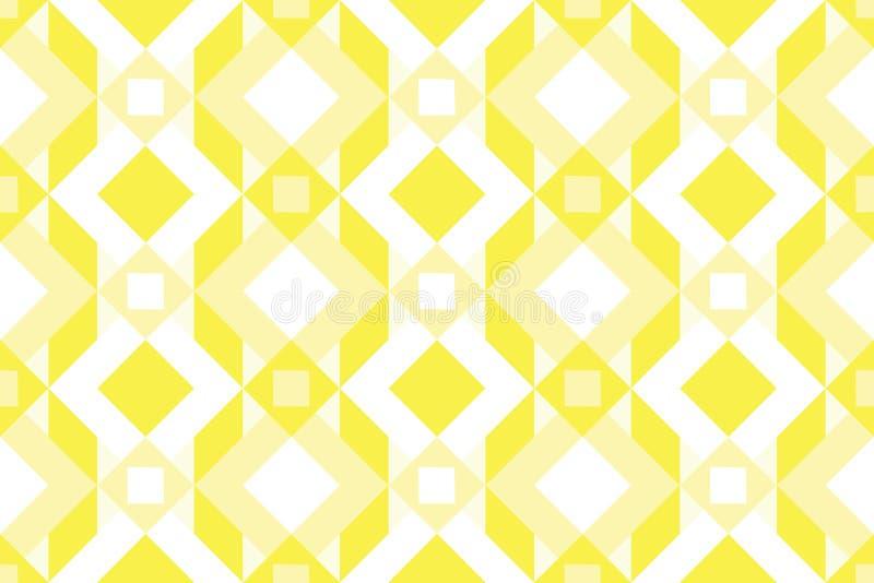 Geo无缝的样式,种族装饰品,民间主题,无缝的fabr 向量例证