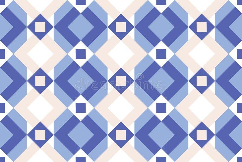 Blue Tapestry Stock Illustration Illustration Of Antique
