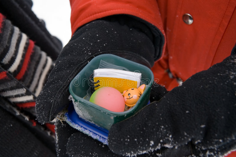 Download Geocache stock photo. Image of winter, game, discovery - 435826