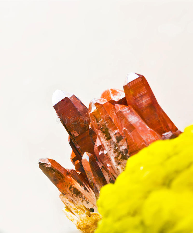 Geochemistry arkivbild