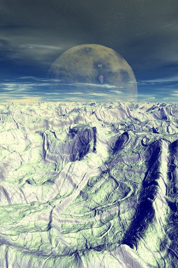 Download Geodar stock illustration. Illustration of scifi, sierra - 115505