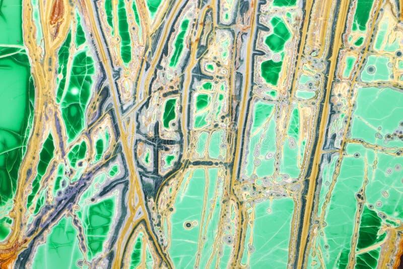 Geode Crossection stock fotografie