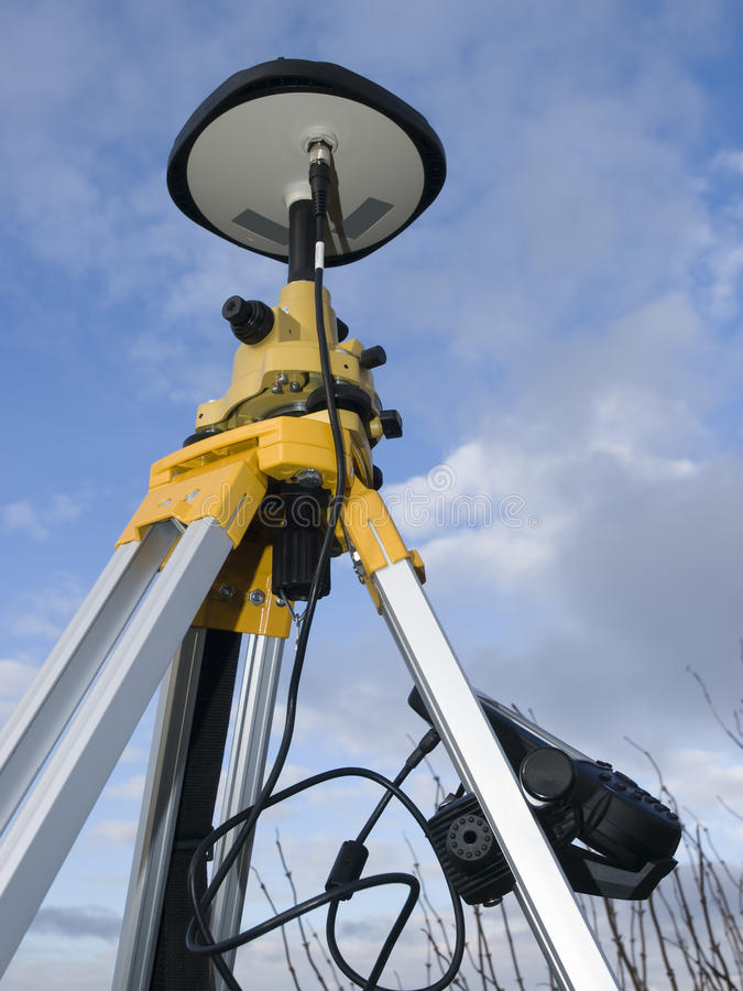 Geodetic GPS royalty free stock images