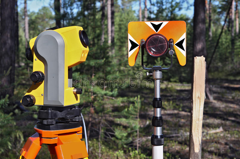 Geodetic Instruments Stock Photos