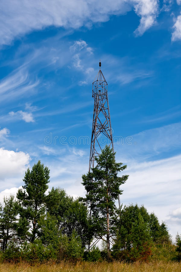 Download Geodetic points in Russia stock image. Image of clouds - 17660183