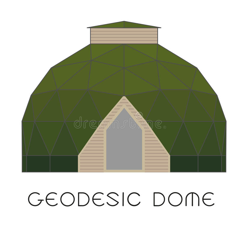 GeoDome royaltyfri fotografi