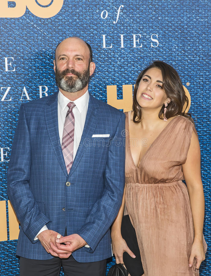 Geoffrey Cantor. Actor Geoffrey Cantor arrives for the New York City premiere of `The Wizard of Lies,` at the Museum of Modern Art MOMA on May 11, 2017 royalty free stock image