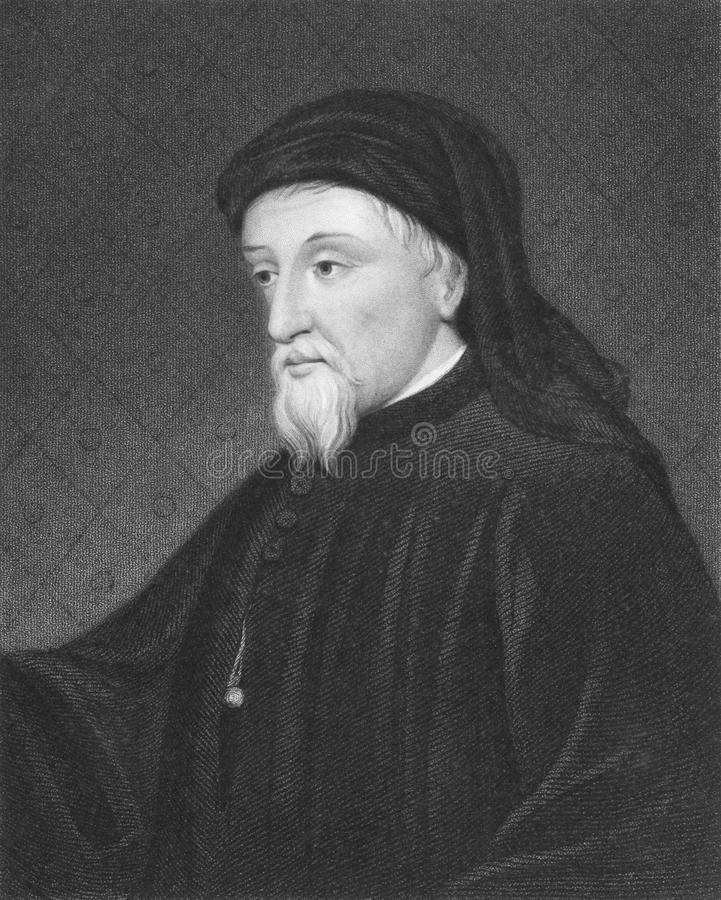Download Geoffrey Chaucer editorial photography. Image of chaucer - 19443807